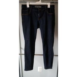 Old Navy Rockstar Dark Skinny Jean's size 16